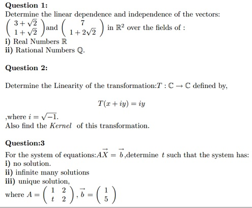 thesis on linear algebra Preface i am happy for you to see this fifth edition of introduction to linear algebra this is the text for my video lectures on mit's opencourseware (ocwmitedu and.